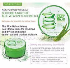 Aloe Vera 92% Gel 300ml Natural Skin care Soothing & Moisturizers Fresh 2 Pc