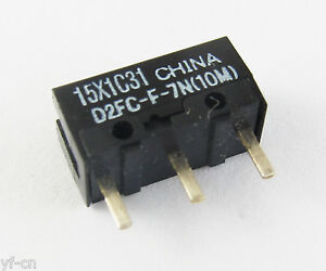 10pcs NEW OMRON Micro Switch D2FC-F-7N(10M) For Gamers Usage Mouse FreeShipping