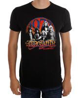 Aerosmith AEROSMITH IN CONCERT 1977 T-Shirt NWT Licensed & Official