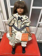 Ilse Wippler Vinyl Puppe Nana 62 cm. Top Zustand.
