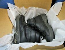 New listing OREGON MUDDERS LEATHER WATERPROOF GOLF SHOES MEN'S 10.5M BLACK - WORN ONCE