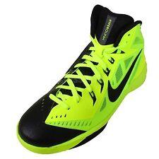 Nike Kid's Hyperdunk (GS) Basketball Shoes Sz3.5Y NEW 654252 700 Black/Volt $125
