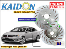 "Volkswagen Jetta brake disc rotor KAIDON (Rear) type ""BS"" / ""RS"" spec"