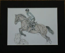 Paintings/Posters/Prints Mounted Horse Collectables