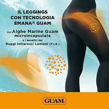 Guam Leggins Infrared EMANA, taglia S-M 42/44 con Alghe Marine microincapsulate