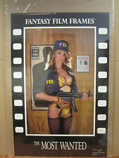 "vintage "" The Most wanted"" Poster fantasy film frames 1990 4511"