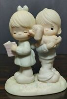 Precious Moment Puppy Love Is From Above 1987 Figurine 106796
