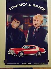"STARSKY AND HUTCH / RARE ""1976"" ORIGINAL POSTER - CAR - 23 X 35"""