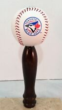 Toronto Bluejays KEGERATOR BEER TAP HANDLE MLB Pub Style Baseball Cherry