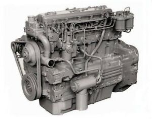 Perkins 6.354.4T Diesel Engine, Reman. All Complete and Run Tested.