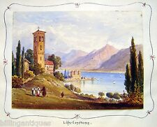 GERMANY LAKE CONSTANCE W/COL  ENG SCH C1830