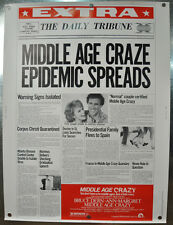 Middle Age Crazy Original Movie Poster 1980 30 x 40