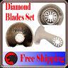 3 Diamond Oscillating Multi Tool Blade For Fein Multimaster Bosch Makita Ridgid