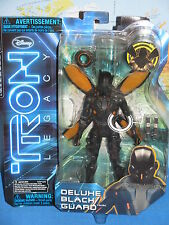 TRON LEGACY DISNEY DELUXE BLACK GUARD SPIN MASTER ACTION FIGURE BRAND NEW & VHTF