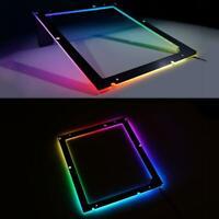 New Rgb Backplate For Tx Matx Itx Gaming Motherboard Rgb Back Light Sync