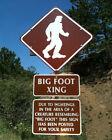 Bigfoot Big Foot Sasquatch Yeti XING Creature Beast Sign American Folklore Photo