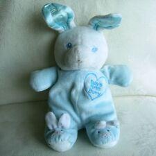 Doudou Lapin Baby's First Bunny - Blanc Bleu