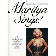 Marilyn Sings! The Marilyn Monroe Songbook Piano Vocal & Guitar Chords Song Book