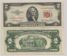 1953 $2 United States Note   UNC   Legal Tendar   Red Seal   Crisp & Original