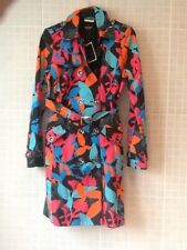 Juicy Couture Matisse Flowered Mac / Coat Size M NWT