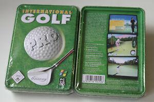 International Golf Pro  (PC Metallbox)  Sammlerbox   Neuware    New