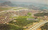 ALBROOK AIR FORCE BASE Aerial View #2 CANAL ZONE PANAMA postcard B6