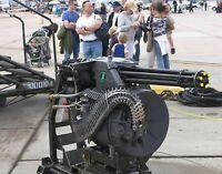 M61 Vulcan Gatling-style rotary cannon. War Art .  11x14 Print
