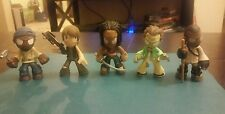 Lot Of 5 Mystery minis The Walking Dead series 2,3 and 4