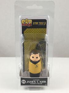 Pin Mate 01 Captain James T Kirk Star Trek TOS Wooden Figure NEW Original Series