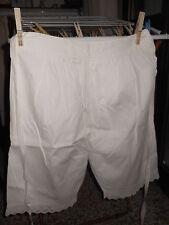 Mutandoni  cotone pizzo Cotton Granny Pants Culotte coton B7 (13)