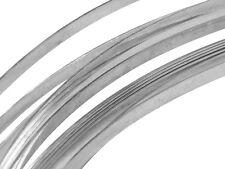 Fine .999 Silver Wire 100cm x 1mm x 0.2mm Rectangular Soft BEZEL / WRAP / ENAMEL