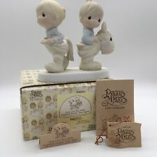 New ListingPrecious Moments 1984 How Can Two Walk Together Except They Agree Mint E9263