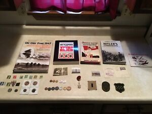 SILVER 2 MARK1937 Bronze 1939 1941 WW2 German PIC PIN Medal Patch 5 Book Hitler