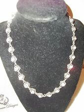 "BEAUTIFUL & NEW ""PREMIER DESIGNS"" CRYSTAL NECKLACE"