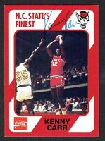 Kenny Carr signed auotgraph auto North Carolina State Collegiate Collection