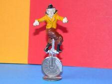 VINTAGE RARE PRE-WAR CHARBENS LEAD MIMIC CIRCUS SERIES CLOWN RIDING A UNICYCLE