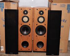 Pair of Infinity Kappa 6.1 Tower Floor Speakers W/Boxes. Need Refoming.
