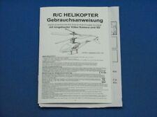 Bedienungsanleitung RC Heli T1 Top Grade Helicox Spy 91003504619-3650