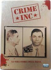 Dvd Crime inc. - La vera storia della mafia - Steelbook 2 dischi Usato
