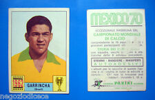 MEXICO '70 - Panini 1970 - Figurina-Sticker - GARRINCHA - BRASILE 1962 -Rec