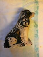 Vintage Ceramic large Spaniel Dog Figurine