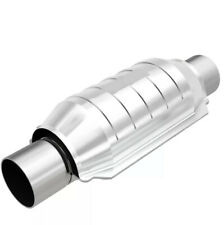 Magnaflow 53005 Universal High Flow Catalytic Converter Round 225 Inout