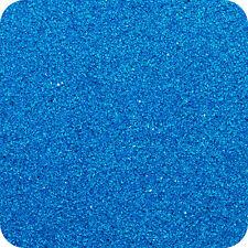 BLUE -  Wedding Decorative Sandtastik Coloured Craft Sand - 454g Bag