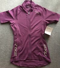 2XU Womens Cycling Thermo S/S Purple Jersey - Size XS - RRP $120