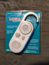 Spectra Shower Tunes Am/Fm Shower Radio New In Unopened Package