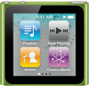 Apple iPod Nano 6th Generation8GB Various Colors Good Condition