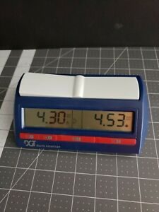 DGT North American Professional Digital Chess Clock and Game Timer