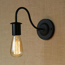 Industrial Vintage Wall Light Edison Sconce Clear Glass Shade Wall Lamp Decor