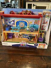 MUPPET BABIES SCHOOLHOUSE PLAYSET Disney Junior KERMIT FIGURE Just Play New