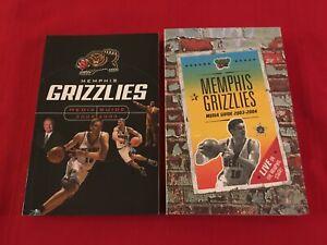 NBA Memphis Grizzlies media guide yearbook / You pick 'em / Box 2020 / Gasol